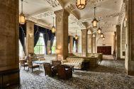 ホテルニューグランド/ マネジメントスペース:圧巻の本館ロビー