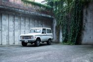 noru studio (ノル スタジオ):中庭まで車の乗り入れが可能