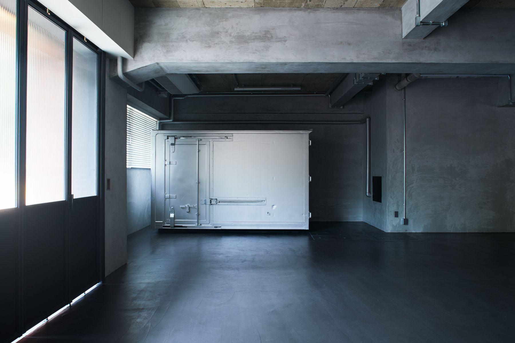 noru studio (ノル スタジオ)スタジオ内・コンテナボックス