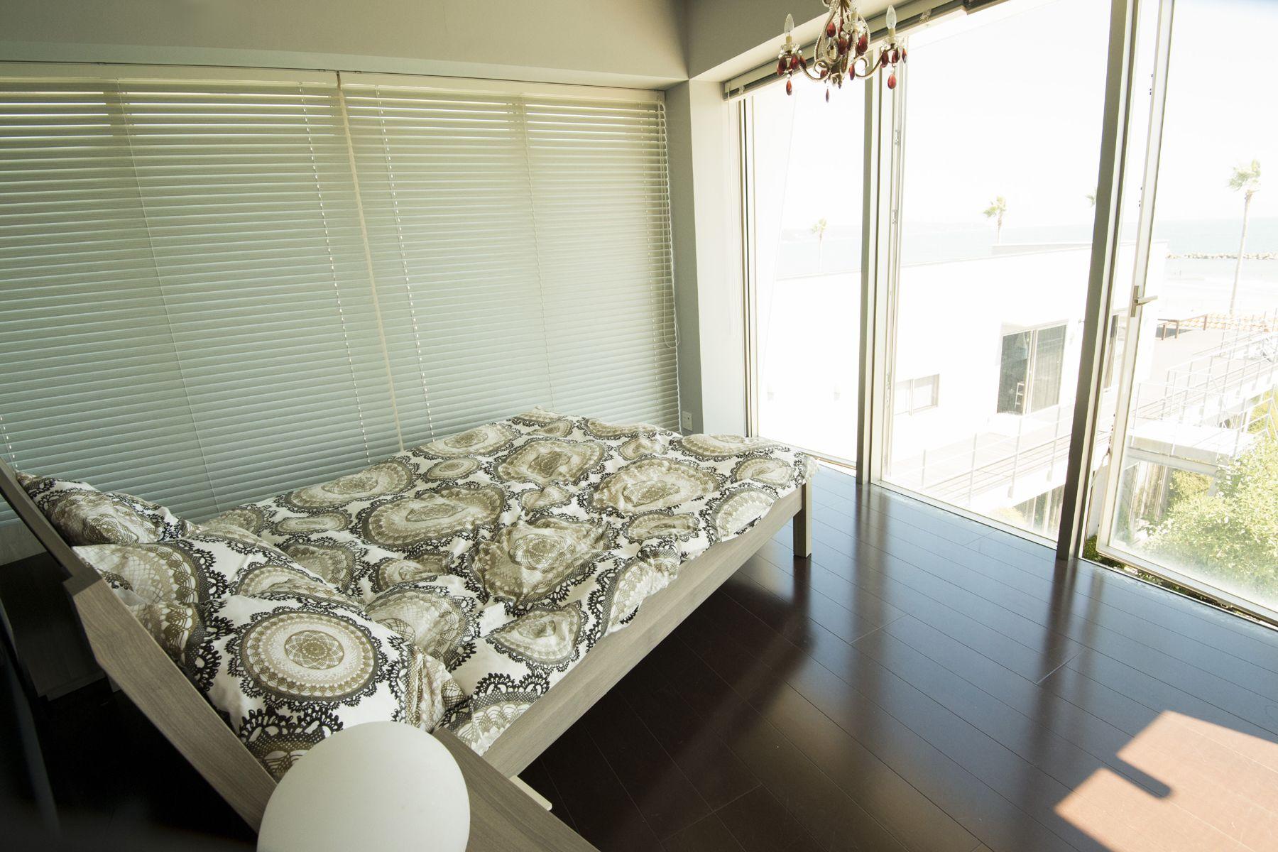 鴨川サーフィンハウス各種ベッドルームあり