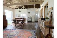 旧海岸第五スタジオ:趣きのある床