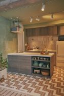 LIFELOG (ライフログ):広いキッチンカウンター