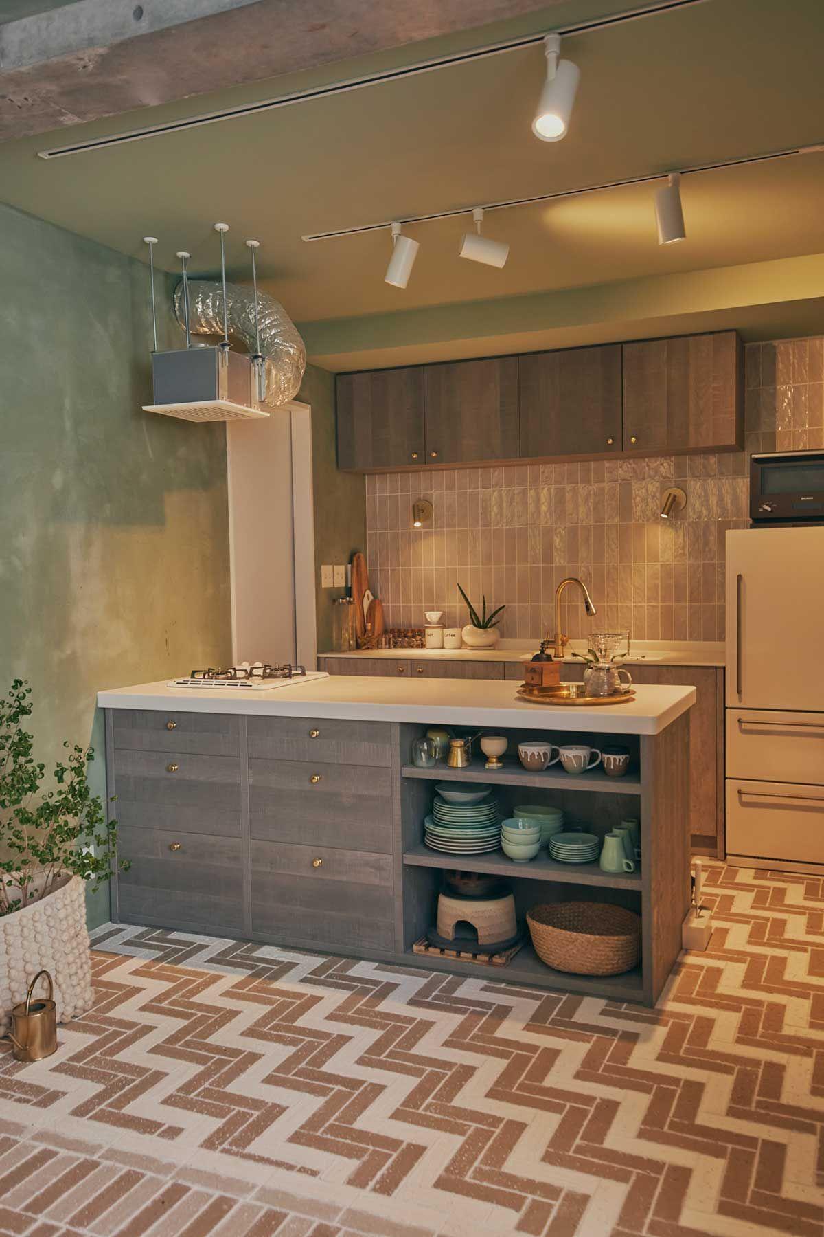 LIFELOG (ライフログ)広いキッチンカウンター