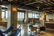川崎キングスカイフロント東急REIホテル(トウキュウレイホテル):カフェラウンジ