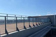 川崎キングスカイフロント東急REIホテル(トウキュウレイホテル):ホテル裏