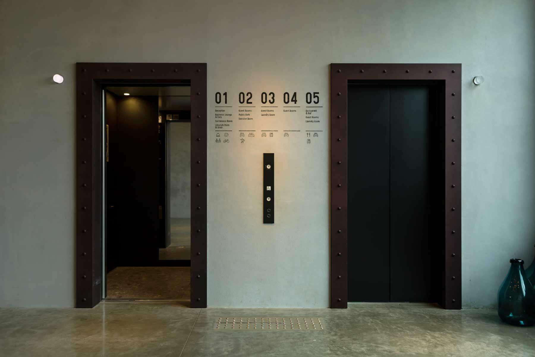 川崎キングスカイフロント東急REIホテル(トウキュウレイホテル)5Fエレベーターホール