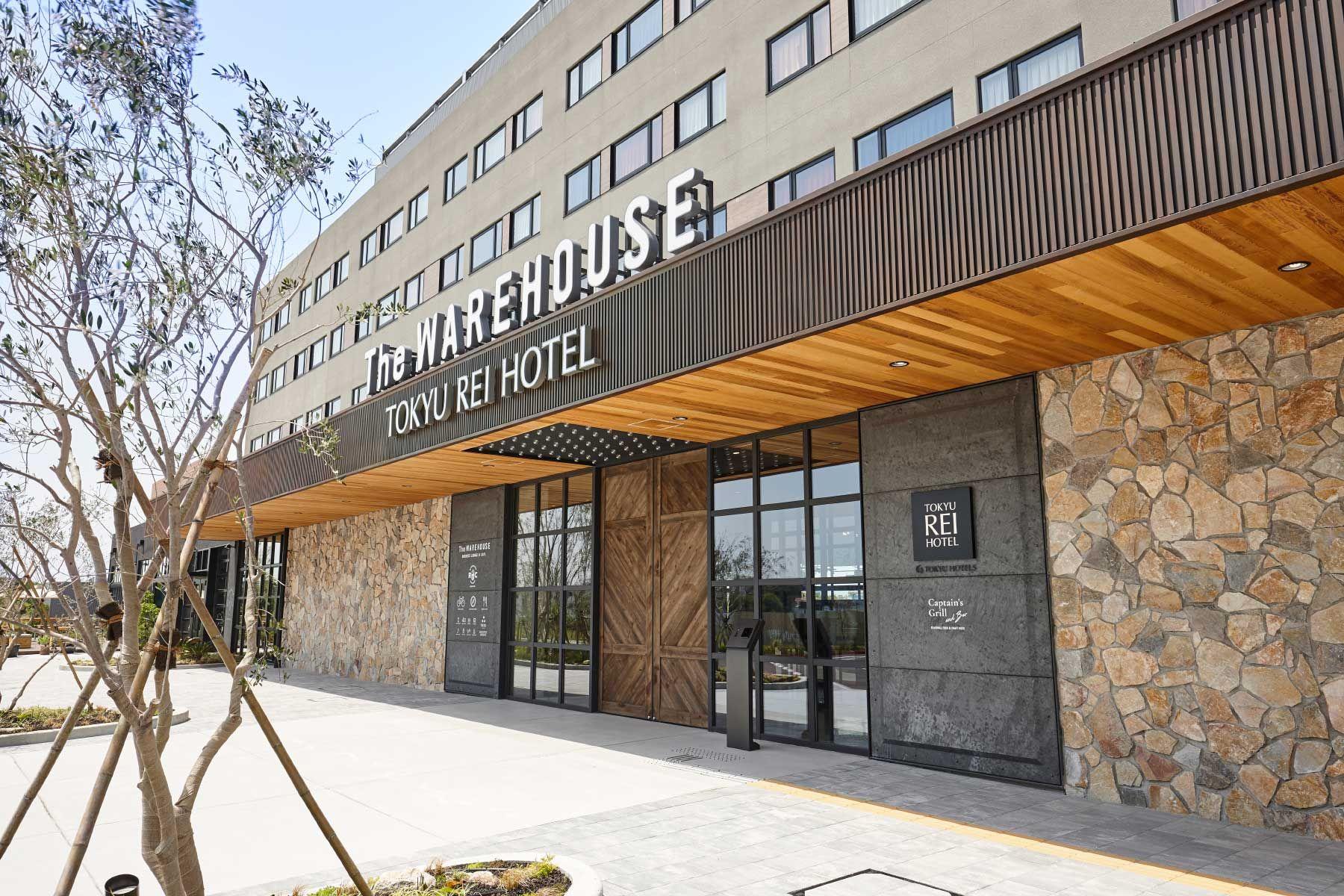川崎キングスカイフロント東急REIホテル(トウキュウレイホテル)ホテルエントランス