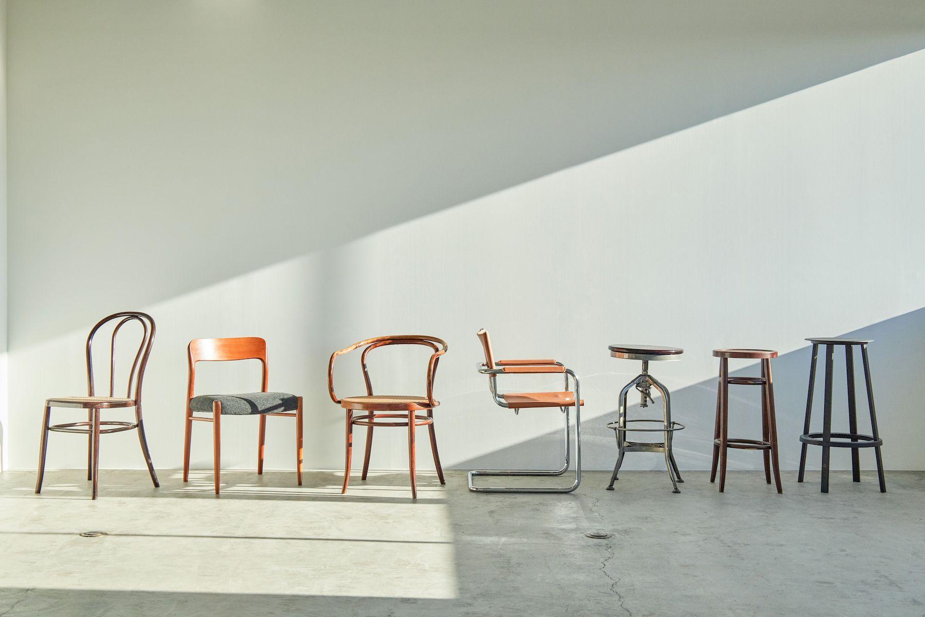 Inspiration studio (インスピレーションスタジオ)名作ビンテージの椅子も充実