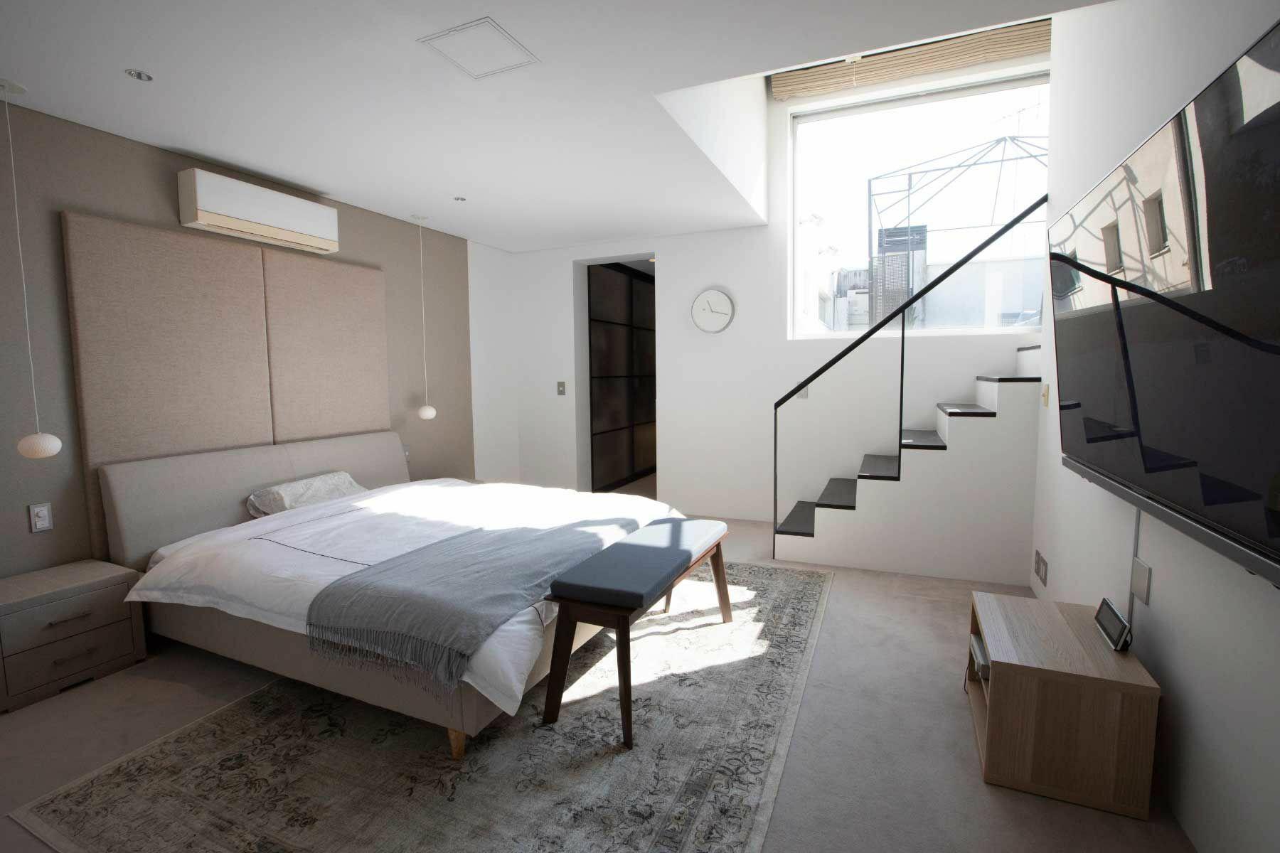 渋谷区西原ハウス /個人宅 (シブヤクニシハラハウス)ベッドルーム