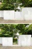 目黒本町テラスハウス:庭 ーライトアップー