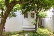 目黒本町テラスハウス:庭 ー6月頃ー