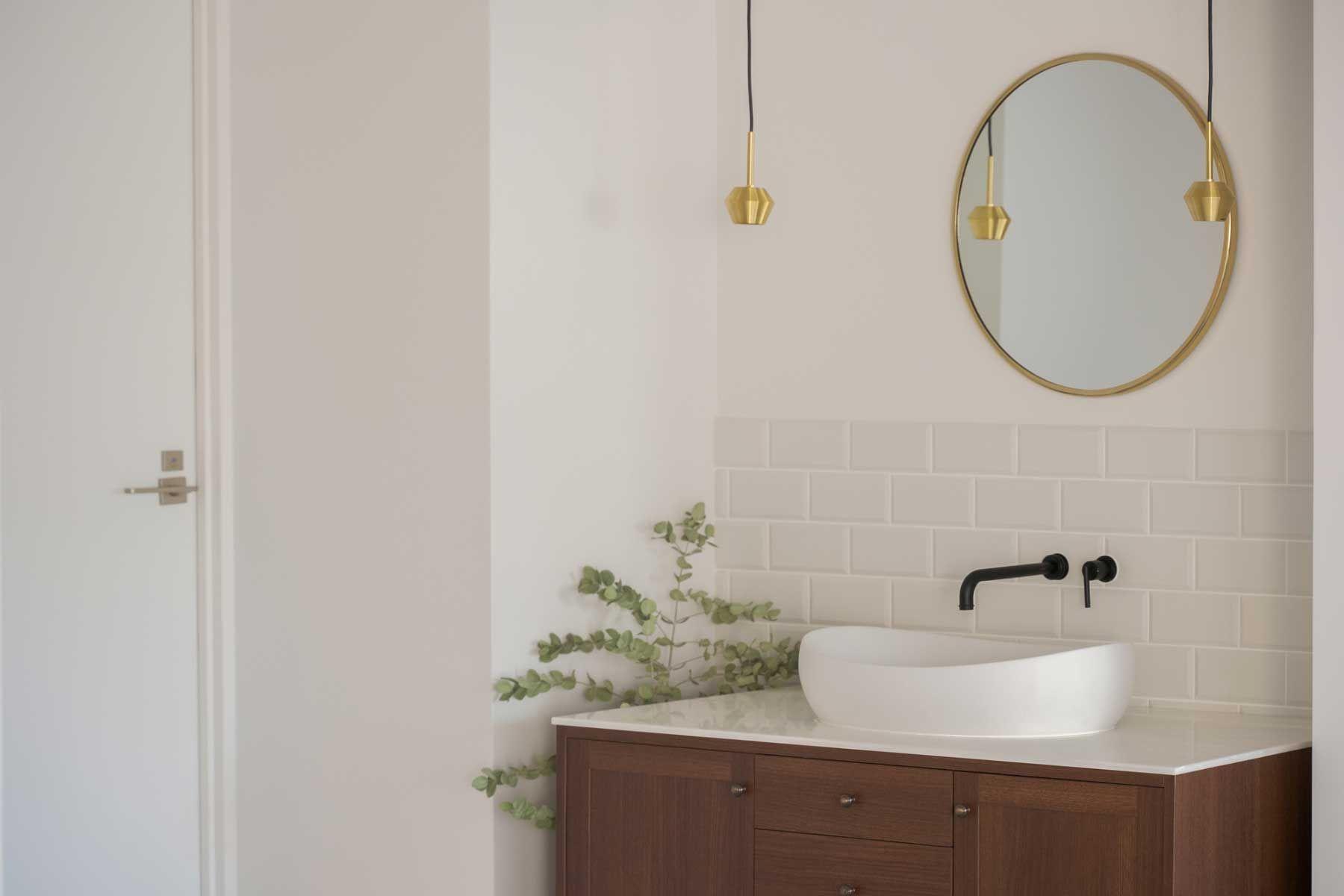 studio ankaa (スタジオ アンカー)清潔感のある洗面台