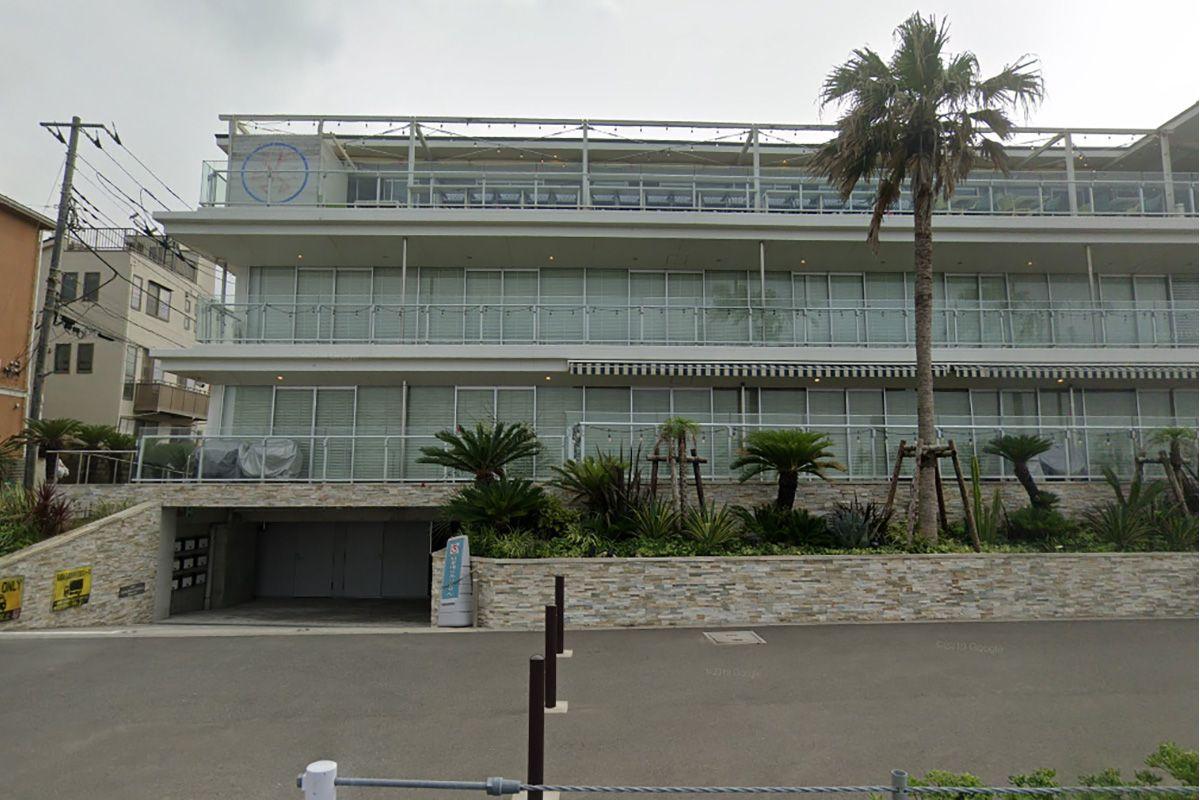 ZAIMOKU the STUDIO (材木座 スタジオ)搬入時停車スロープ位置