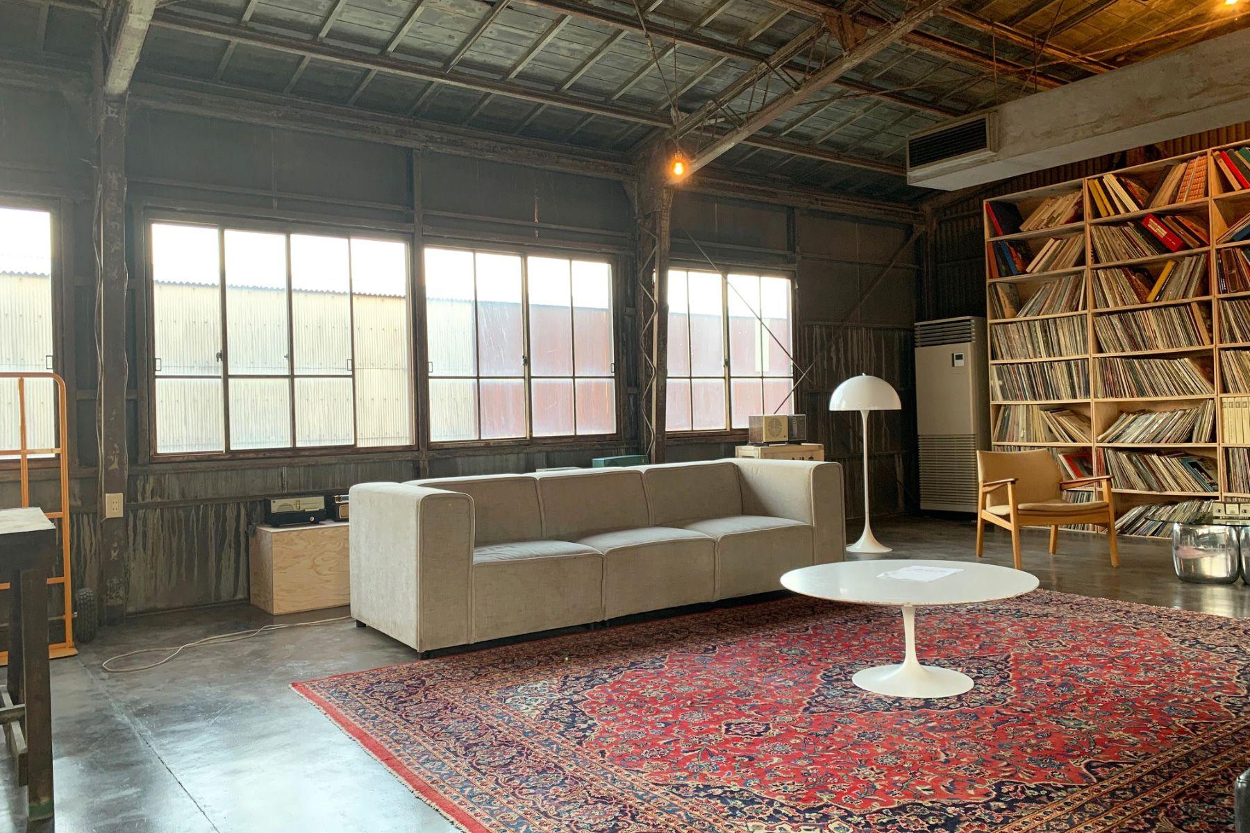 旧海岸第七スタジオコンテンポラリーな空間