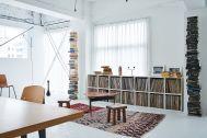 旧海岸第五スタジオ:映えるbook tower shelf