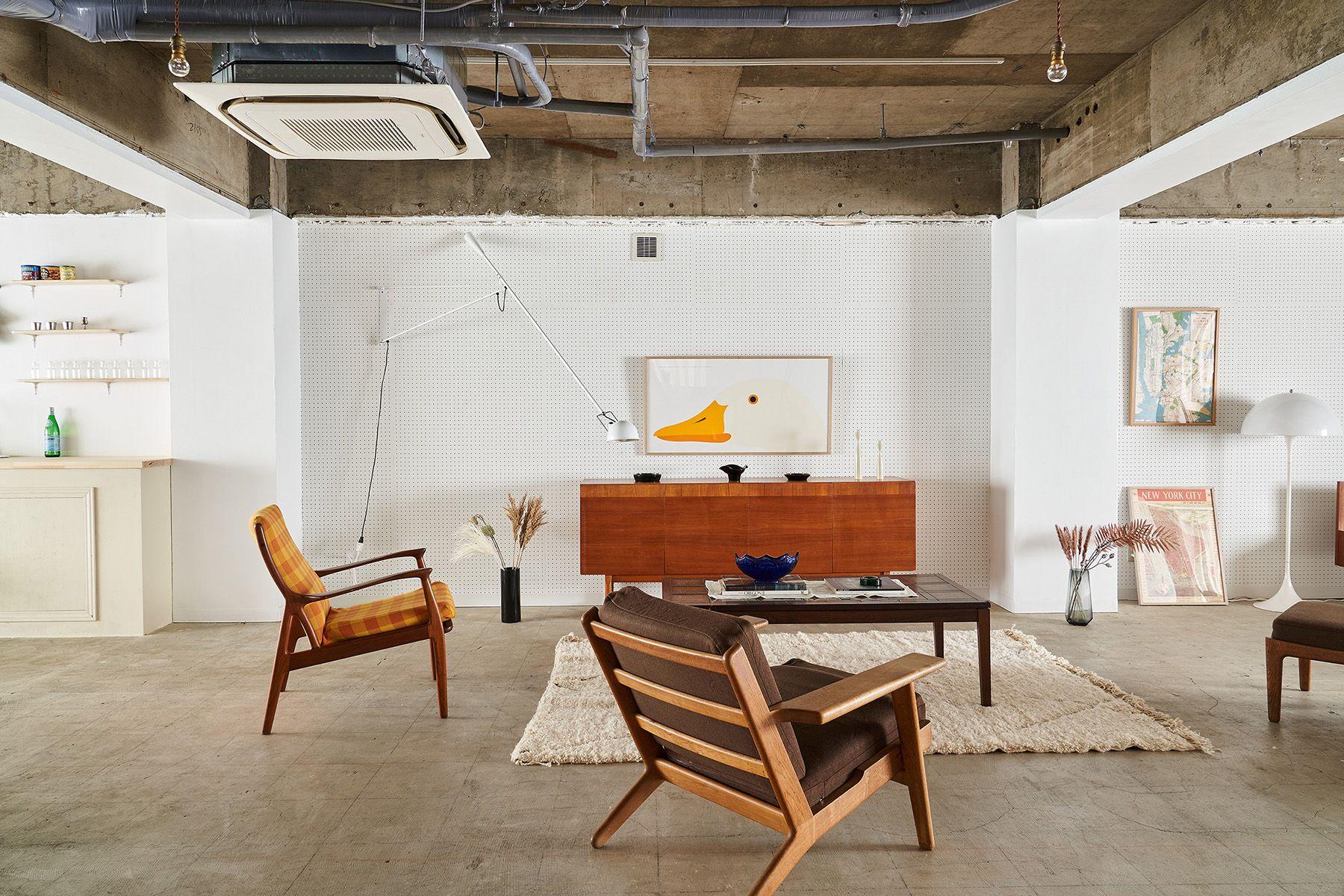 旧海岸第九スタジオ北欧家具+アート