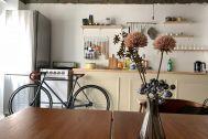 旧海岸第九スタジオ:キッチン飾り棚