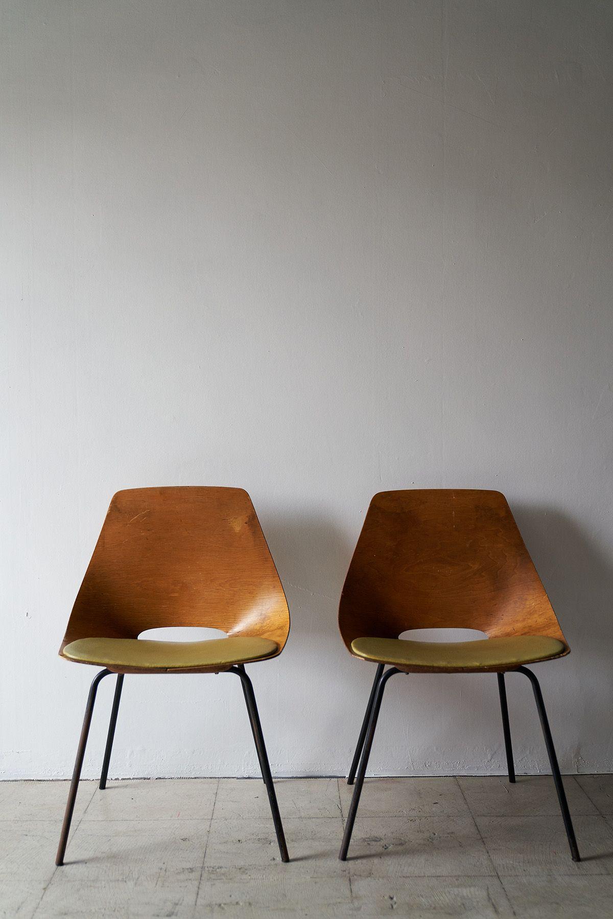 旧海岸第九スタジオピエール・ガーリッシュの椅子