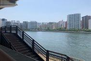 旧海岸第九スタジオ:隅田川