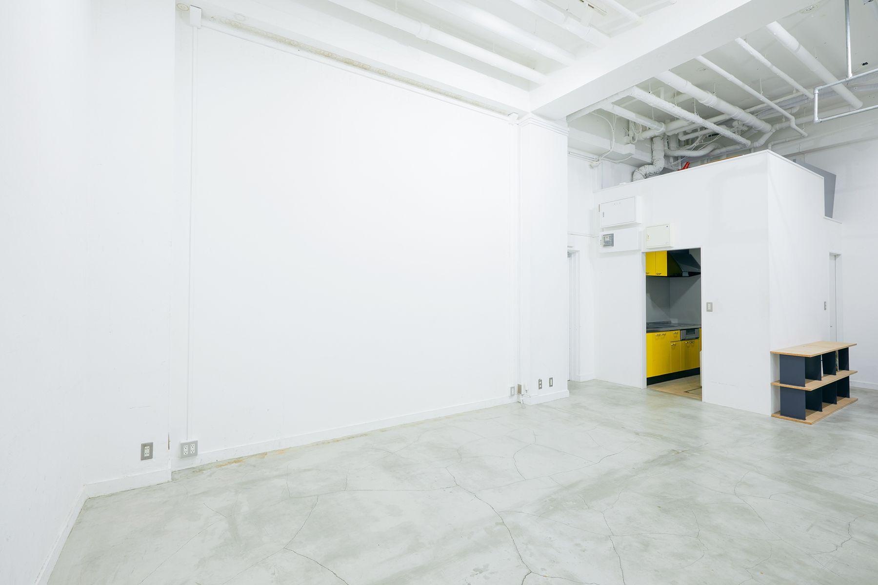 sinca studio 中野坂上 (シンカ スタジオ)天井高4mの開放的な空間