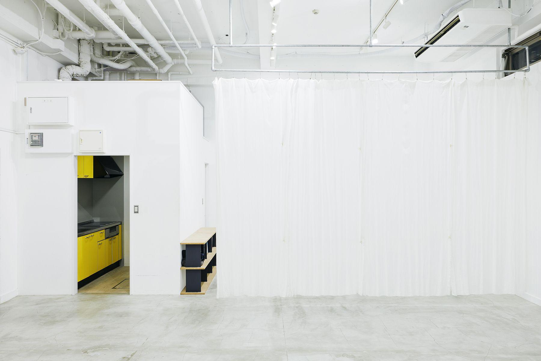 sinca studio 中野坂上 (シンカ スタジオ)カーテンで仕切れます
