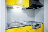 sinca studio 中野坂上 (シンカ スタジオ):IH型システムキッチン完備