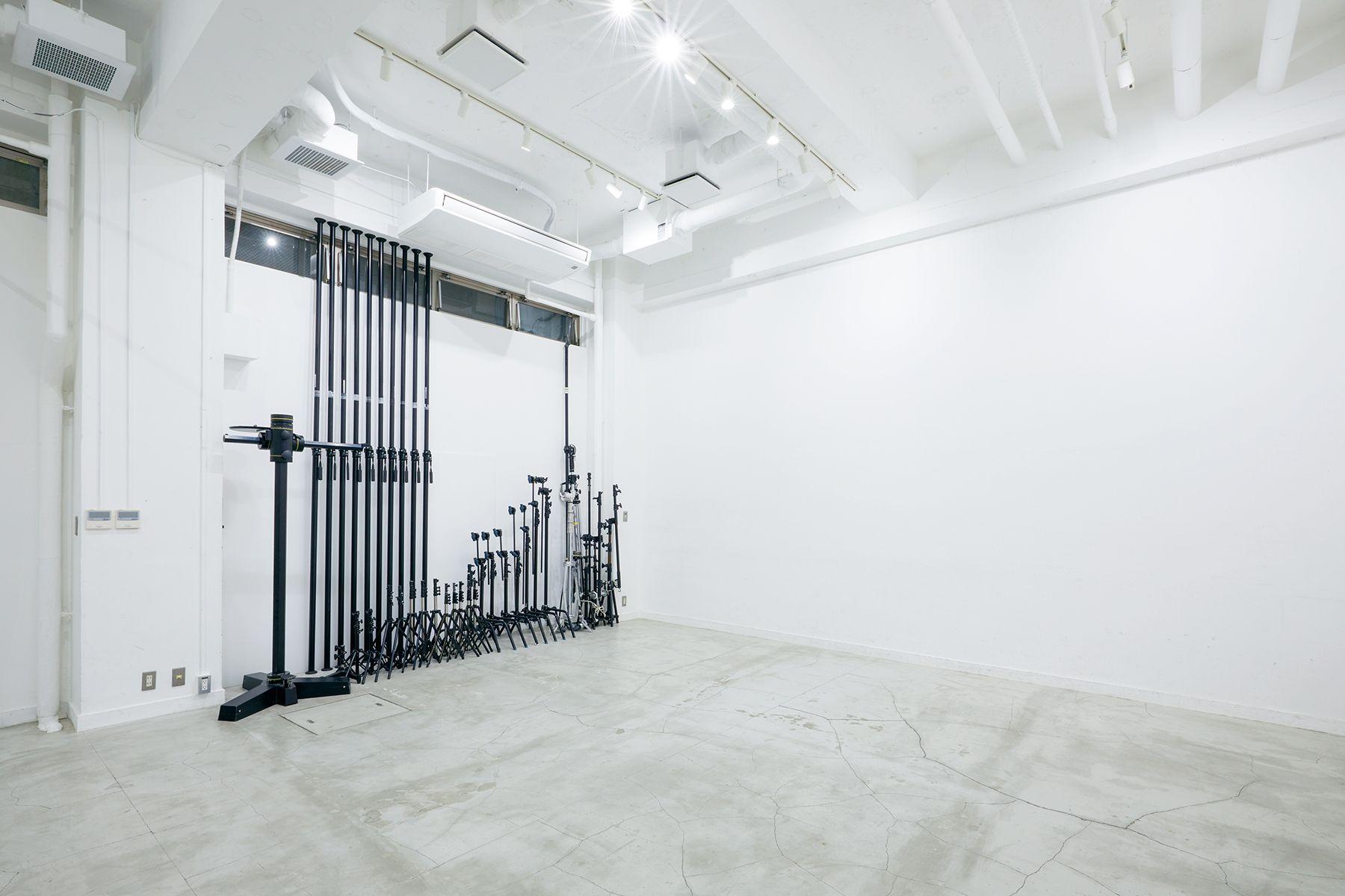 sinca studio 中野坂上 (シンカ スタジオ)商品撮影に嬉しい常備機材が豊富
