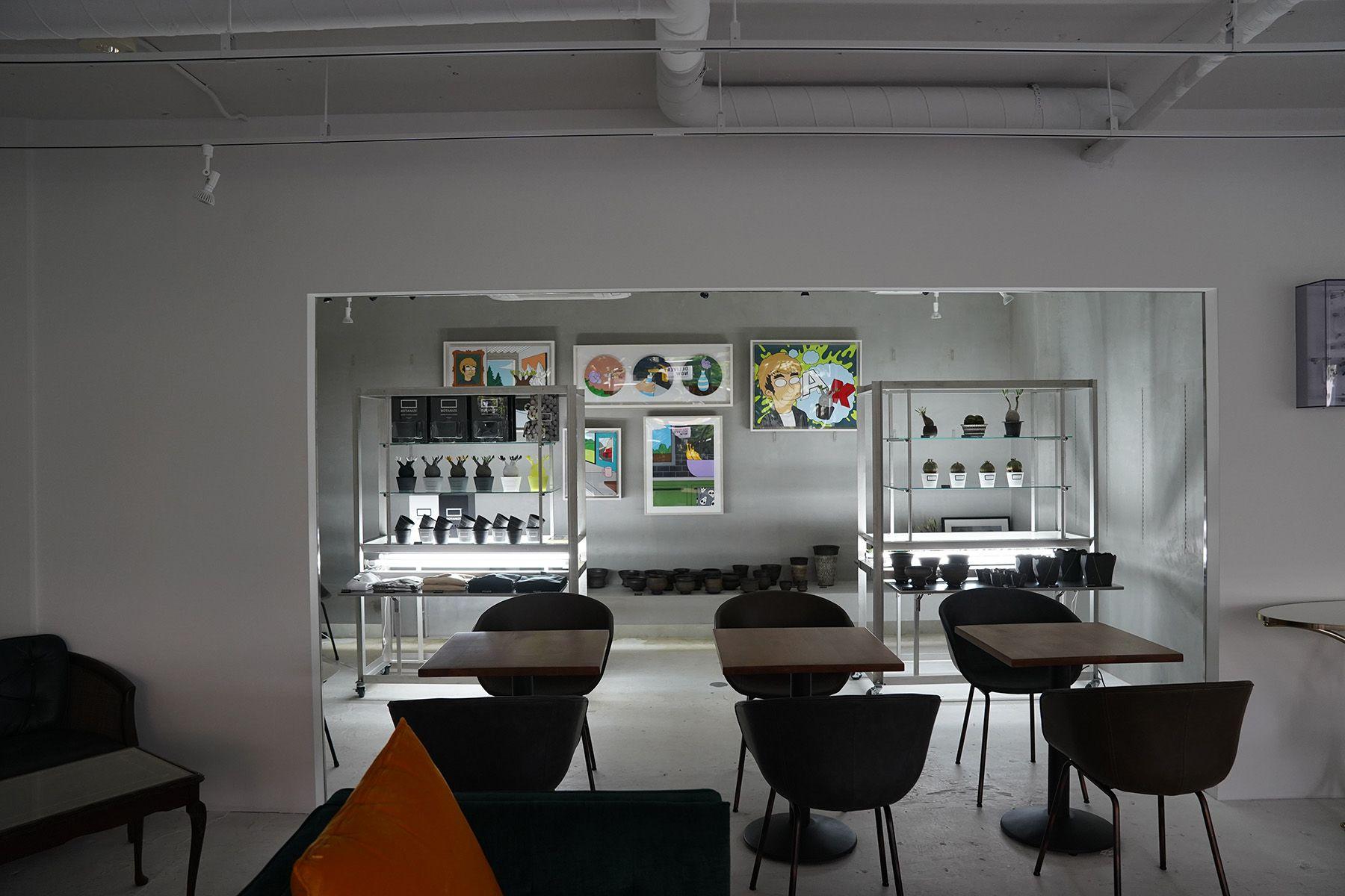 ANEA CAFÉ  松見坂/店舗 (アネアカフェ マツミザカ)ギャラリースペース