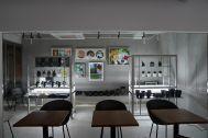 ANEA CAFÉ  松見坂/店舗 (アネアカフェ マツミザカ):アート+植物