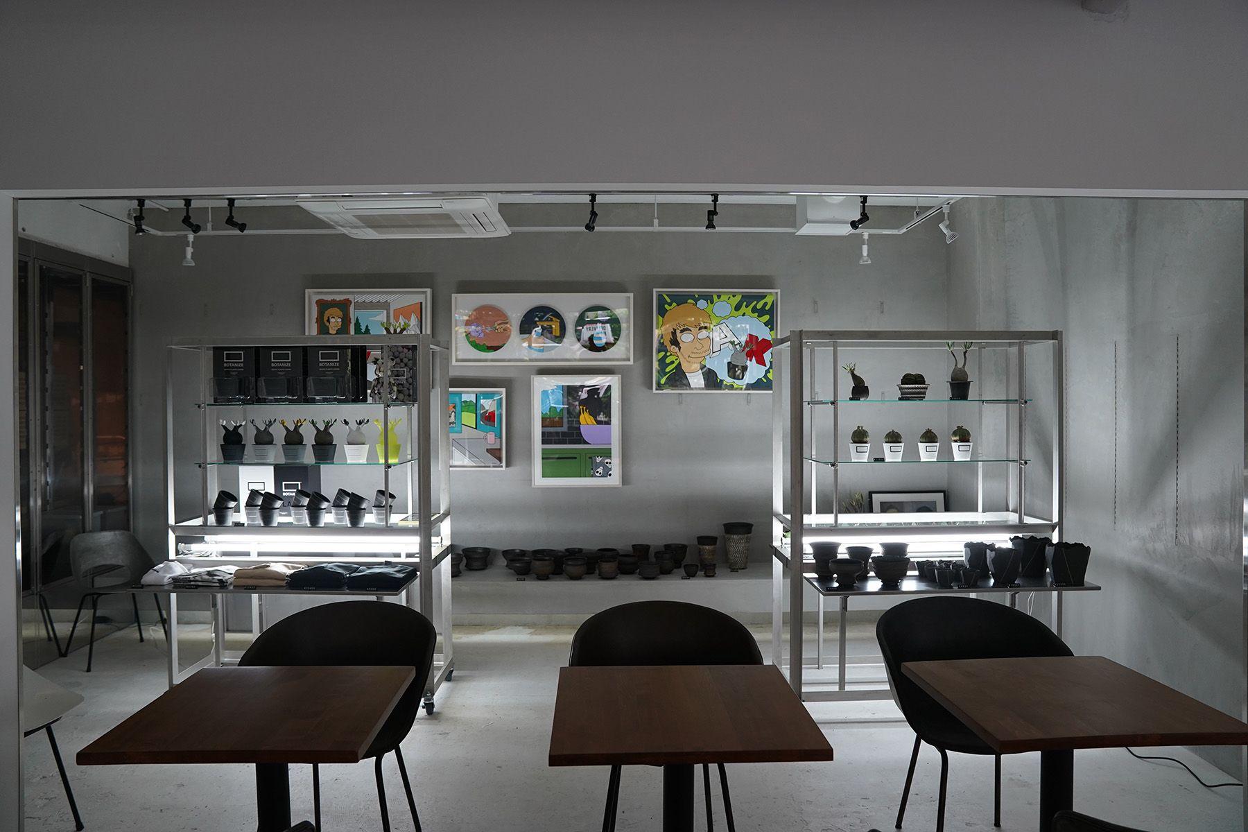 ANEA CAFÉ  松見坂/店舗 (アネアカフェ マツミザカ)アート+植物