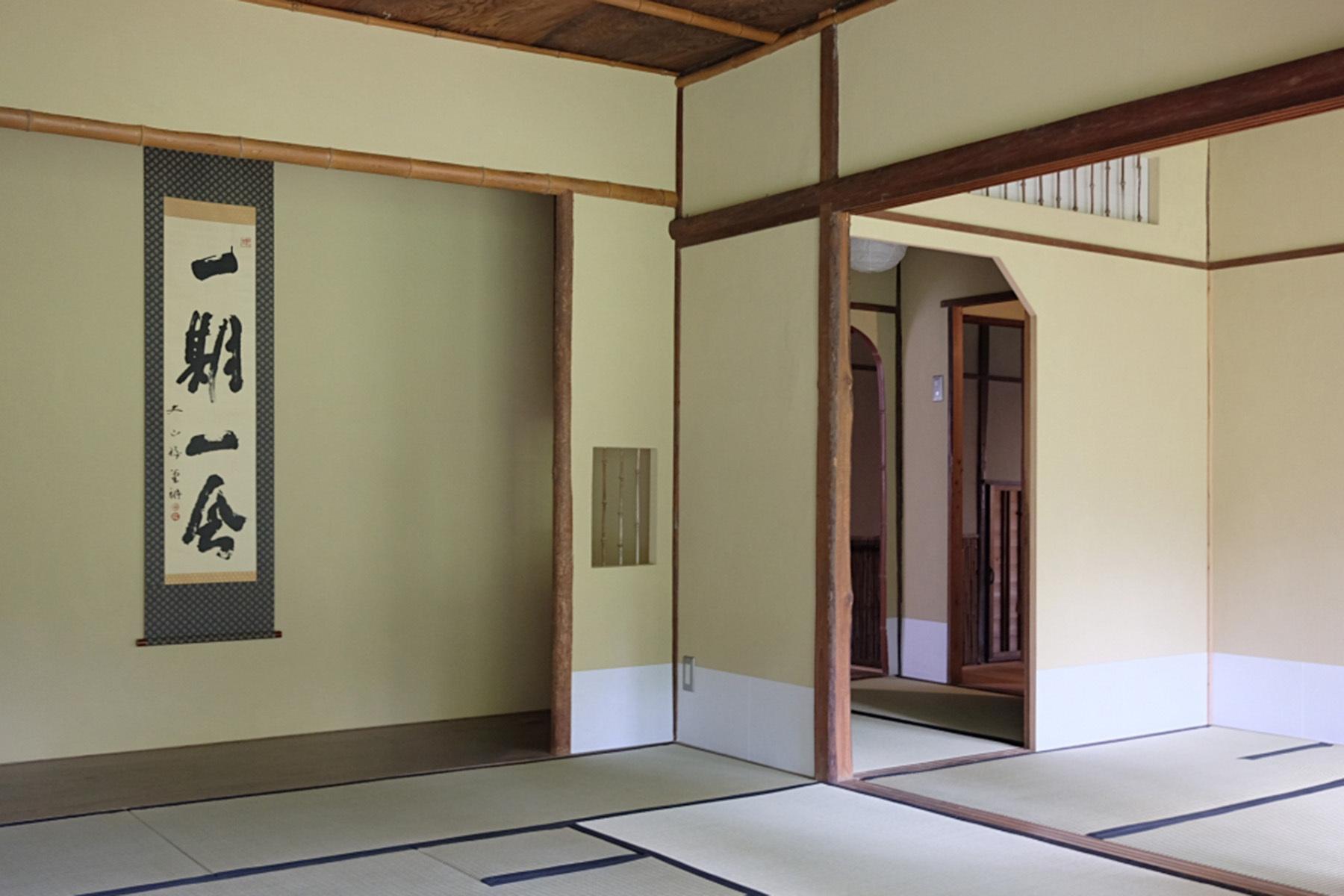 雪ノ下の茶亭和室 2 縁側