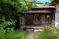 雪ノ下の茶亭:庭