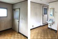 塩/シェアアトリエ (ropeマネジメントスペース):3F 洋室隣部屋、洗面と浴室