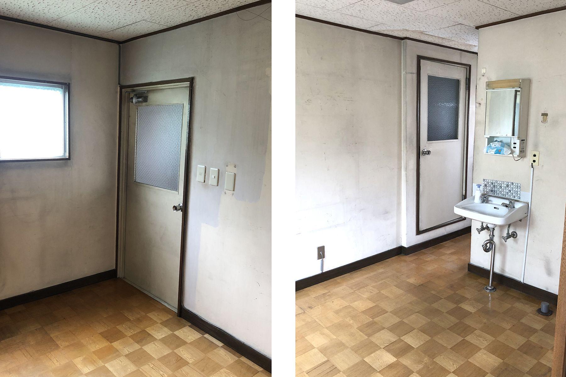塩/シェアアトリエ (ropeマネジメントスペース)3F 洋室隣部屋、洗面と浴室