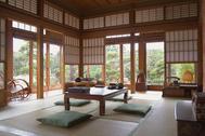 佐倉スタジオ (サクラ スタジオ):居間 洋風の設え