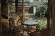 佐倉スタジオ (サクラ スタジオ):居間 和室の設え