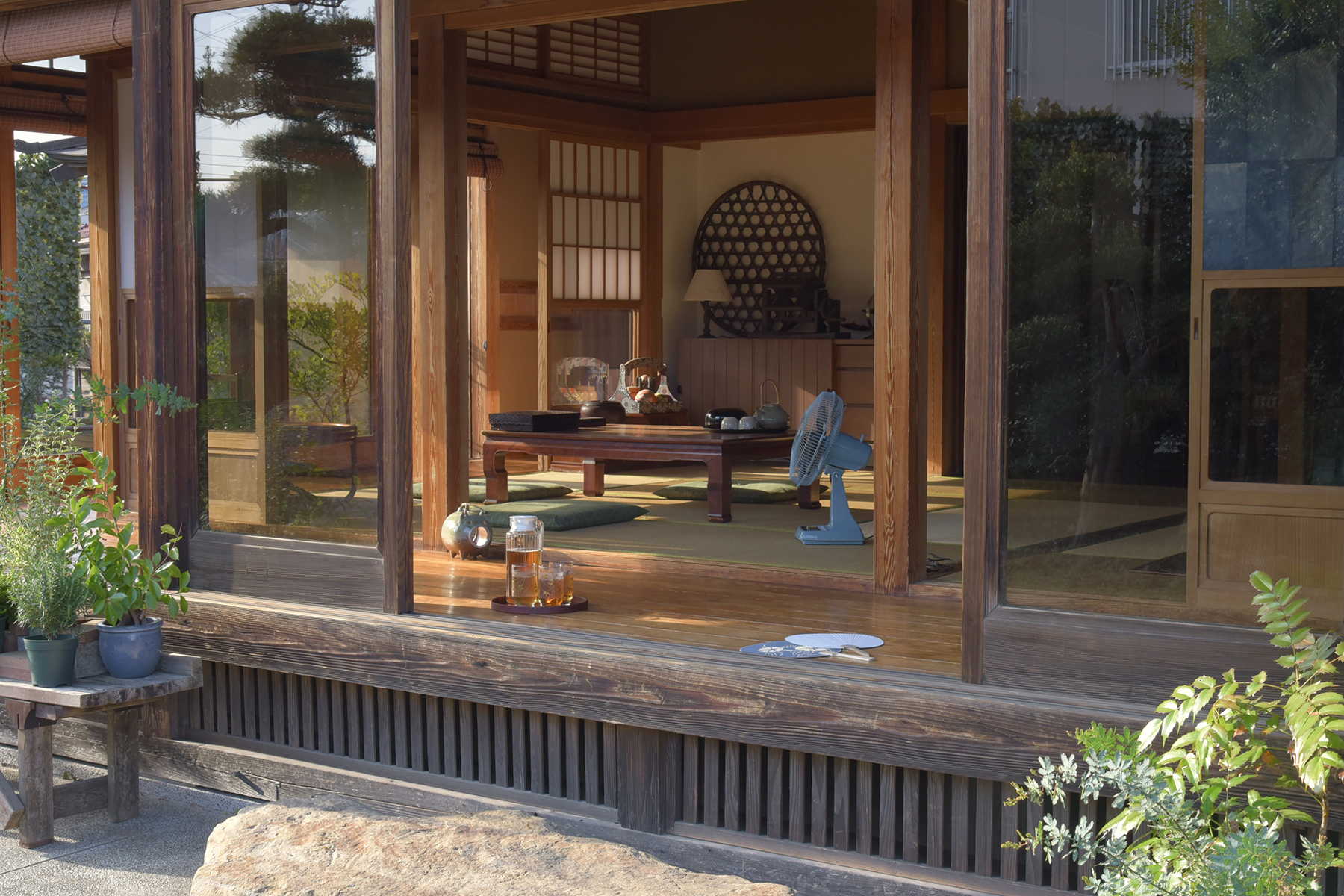 佐倉スタジオ (サクラ スタジオ)居間 和室の設え