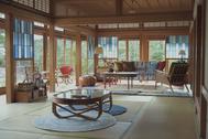 佐倉スタジオ (サクラ スタジオ):客間から玄関