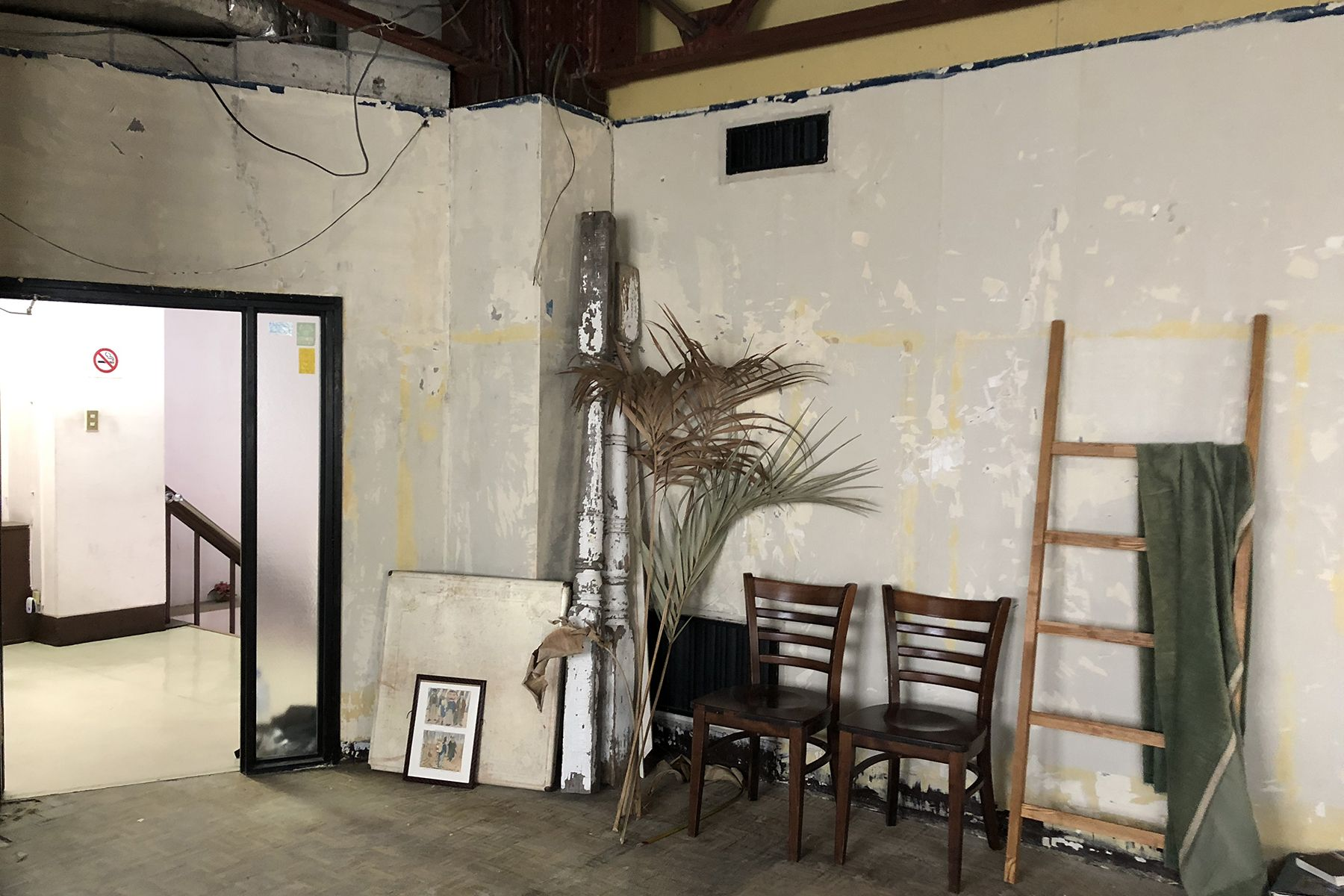 rope 2F部屋の外からライティング可能