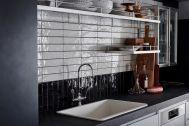 STUDIO-LP 青葉台/LP-2 キッチン&リビング:カウンターのスツールは4脚