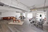 STUDIO-LP 青葉台/LP-2 キッチン&リビング:リビングスペースからの一角