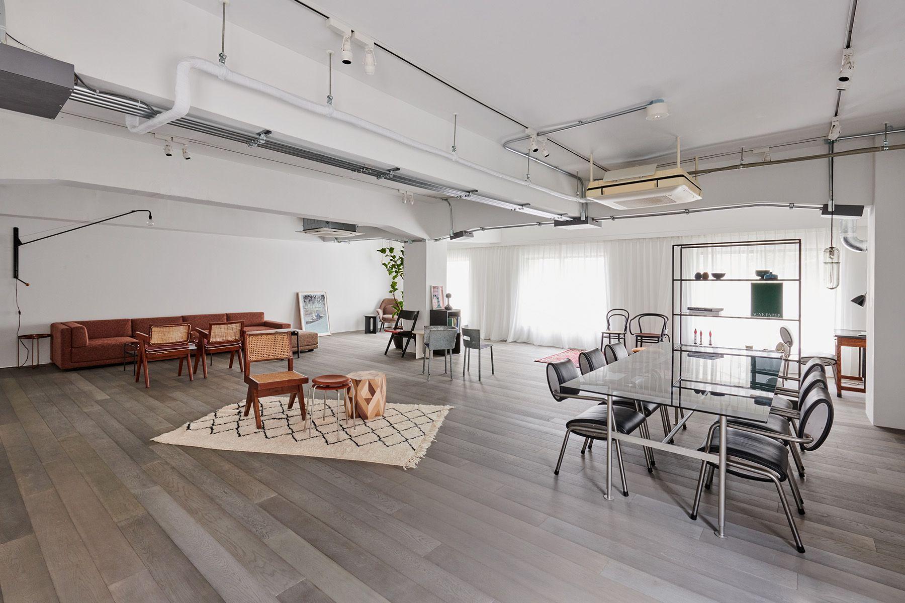 STUDIO-LP 青葉台/LP-2 キッチン&リビングリビングスペースからの一角