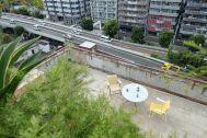ROOVICE/オフィス (ルーヴィス):8F 屋上テラス俯瞰 (要相談)