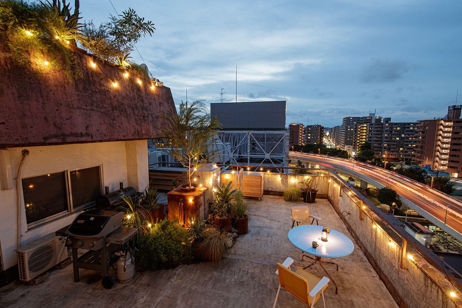 ROOVICE/オフィス (ルーヴィス)8F 屋上テラス 夜景