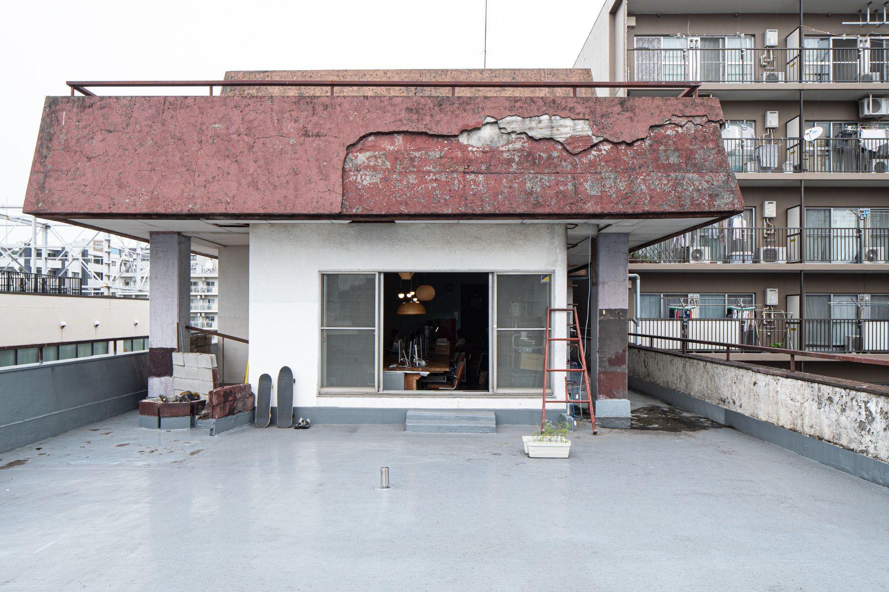 ROOVICE/オフィス (ルーヴィス)7F オフィス側屋上テラス
