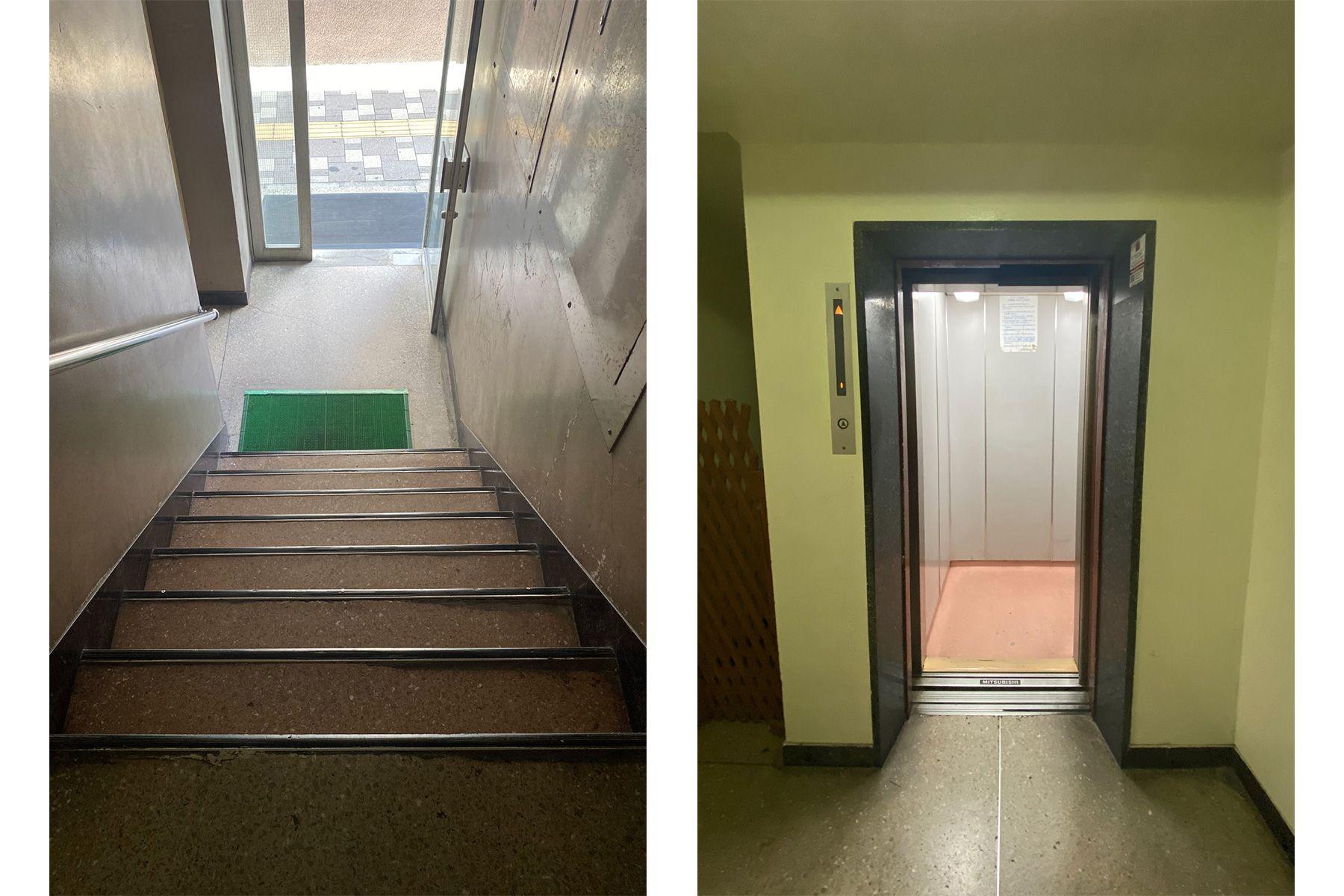 ROOVICE/オフィス (ルーヴィス)階段とエレベーターでの搬入