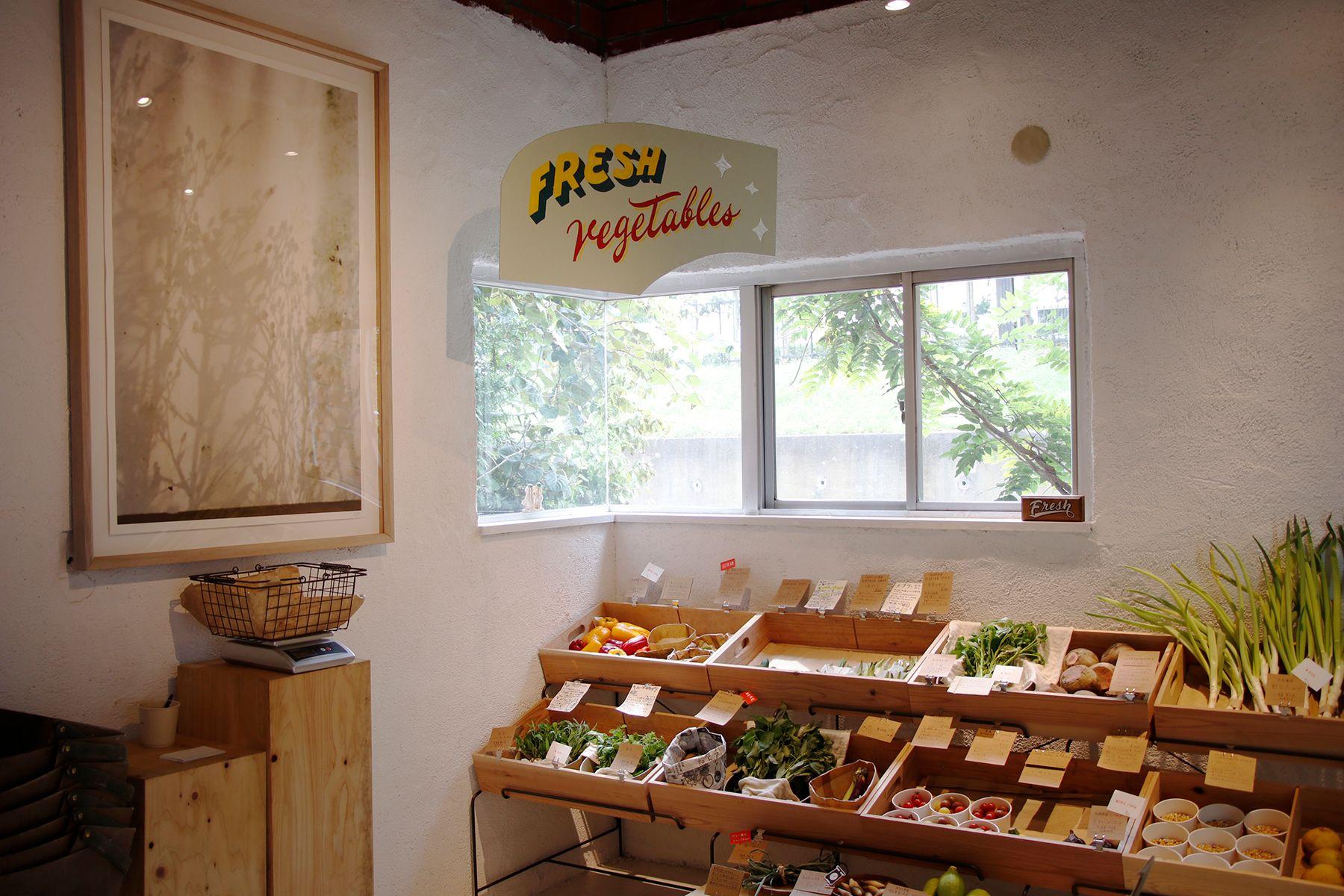 micotoya house (アイス屋/青果屋/shop)サインペイントの看板