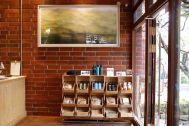 micotoya house (アイス屋/青果屋/shop):煉瓦の壁