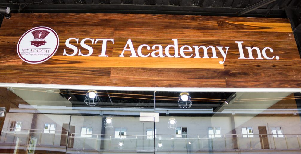this is the entrance of sst academy.