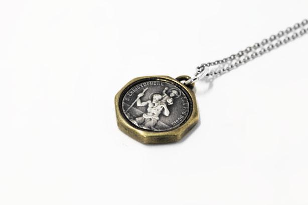 St.Christopher Necklace 6,300yen